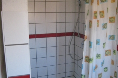 Duschen, Neubau OG