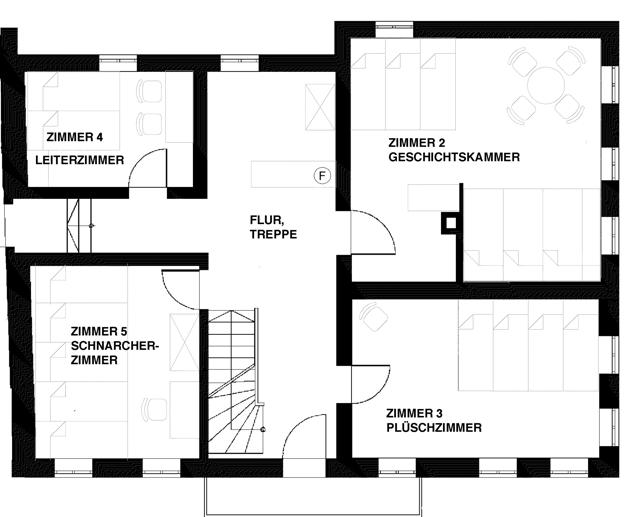 Altbau Obergeschoss